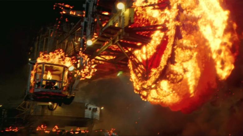 映画『ゴーストライダー2』に登場するバケットホイールエクスカベーター(Bagger 288)