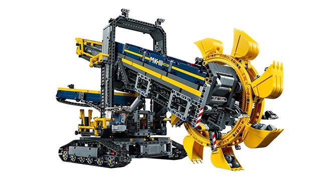 LEGO TECHNIC 42055 バケットホイールエクスカベーター