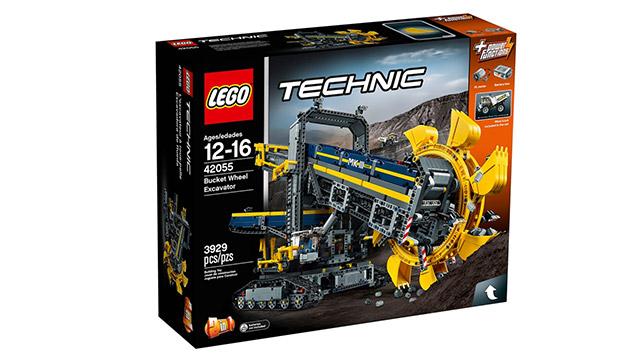 LEGO TECHNIC 42055 バケットホイールエクスカベーター(パッケージ)